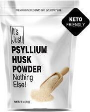 Psyllium Husk Powder Non-GMO Dietary Fiber Keto Baking 10oz