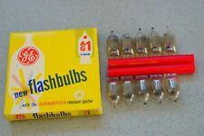GENERAL ELECTRIC Flashbulbs AG 1, 10 Stück Blitz-Birnen boxed/originalverpackt