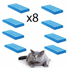 x8 4YourHome Water Purification Filter Cartridges to fit Cat Mate Fountains 335
