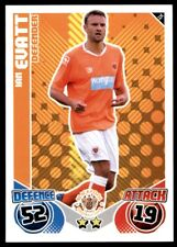 Match Attax 2010-2011 Ian Evatt Blackpool No. 75