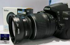 PRO FISHEYE Macro Lens + UV Filter & Lens Hood for Nikon D5200 D5300 D3300 D300