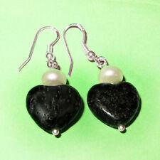 Markenloser Echtschmuck mit Herz-Perlen