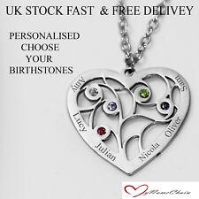 "Personalised NICOLA Gift Steel Necklace gem SET 18/""Nameplate Necklace gold"