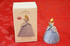 "2012 Hallmark Keepsake ""Ready for the Ball"" Ornament Walt Disney's Cinderella"