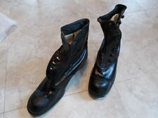 antique 9 Button Black Leather Shoe/Boots