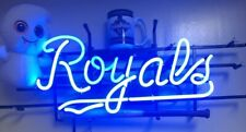 "Kansas City Kcc Royals Neon Sign 17""x10"" Pub Beer Light Bar Christmas"