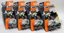 PLOW MASTER 6000 * LOT OF 4 * 2017 MATCHBOX * FOREST SERVICE NATIONAL PARKS