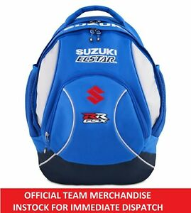ECSTAR Suzuki MOTOGP Official Team Rucksack Backpack Bag NEW - Rins Mir GSX-RR