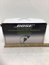 BOSE In Ear Headphones 2009 Earbuds RARE ~ Model 44435 ~ BRAND NEW OPEN BOX!!