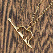 Cute Little Prince Lucky Elephant Charming Necklace Pendant Chain Animal Jewelry
