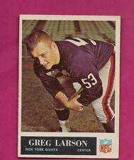 1965 PHILADELPHIA # 118 GIANTS GREG LARSON EX-MT CARD (INV# A5015)
