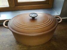 Large Le Creuset size G casserole pot 31cm