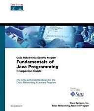 Fundamentals of Java Programming Companion Guide (Cisco Networking Aca-ExLibrary