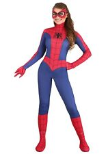 Women's Marvel Spider-Girl Spider-Man Jumpsuit Costume Size XS M L (Used)