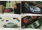 MG TF orig 2002 UK Mkt Postcard Full Set Of 4 -  Brochure Related See Pictures