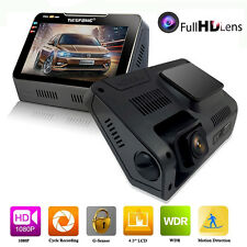 4.3'' Car Dash Camera DVR Cam Vehicle Video Recorder 1080P Camcorder 170° H.264