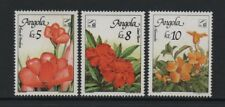 "ANGOLA ""BELGICA 90"" STAMP EXHIBITION - FLOWERS *VF MNH SET*"