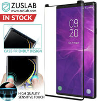 Galaxy Note 9 ZUSLAB Case-Friendly tempered Glass Screen Protector for Samsung