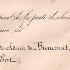 Sidonie Marie De Biencourt Henri De Rohan-Chabot 1878