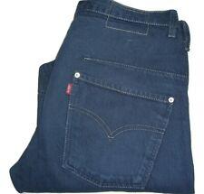 Mens LEVI'S ENGINEERED TWISTED Dark Blue Denim Jeans W32 L32
