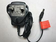 CCTV 12V 0.5A 500mA AC-DC Adaptor Power Supply 5.5mm x 2.1mm UK Plug 2M Cable