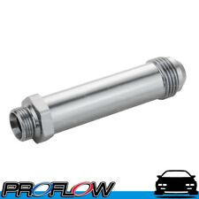 """PROFLOW Holley / Demon Inlet Feed 9/16"""" x 24 Long AN -8 Silver"""