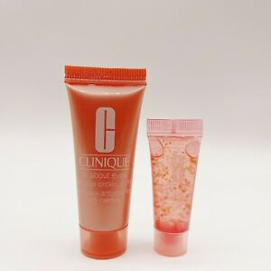 Clinique All About Eyes Cream TUBE 0.5 oz / 15ml Full Size and Eye Serum 5ml