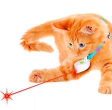 Mini Laser for collar Toy Light Pet  Cat Laser Pointer Cat Toy Plastic