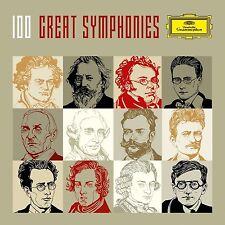 ABBADO/BERNSTEIN/KARAJAN/BÖHM/DUDAMEL - 100 GREAT SYMPHONIES (LTD.EDT) 56 CD NEU