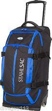 Stahlsac Curacao Clipper Pack Wheeled Scuba Diving Roller Travel Gear Bag Blue