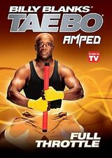 Billy Blanks - AMPED FULL THROTTLE DVD workout tae bo taebo firm abs cardio NEW