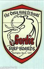 Gordie Surf  Refrigerator / Tool Box Magnet Huntington Beach, CA