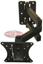 ARTICULATING LCD LED TV MONITOR ARM WALL MOUNT 16 19 22 23 24 27 CORNERS BRACKET