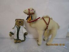 Steiff Camel and Handler Christmas animals