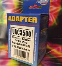 Raynox Universal Adapter 52-67mm RAY UAC 3500 UAC3500 52 55 58 62 67 mm 37 Lens