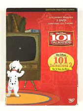 Les 101 Dalmatiens 1 et 2 / Coffret Lot 2 DVD Walt Disney N° 19 et 67 / Prestige