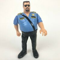 "*Big Boss Man* WWF Hasbro 5"" Wrestling Action Figure WWE Series 3 1991"