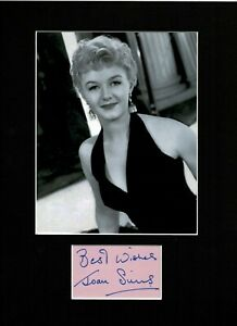 JOAN SIMS CARRY ON REGULAR TOP QUALITY AUTHENTIC SIGNED AUTOGRAPH DISPLAY UACC