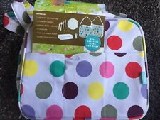 Optima 2 In 1 Insulated Picnic Bag. - Zips Apart To Make 2 Bags