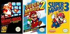 Super Mario Bros 1 2 3 Game Poster Trilogy Collection | Set of 3 | NEW | USA