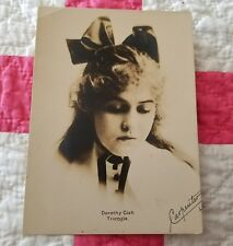 DOROTHY GISH superb 20s BW vintage Carpenter portrait photo. Earliest picture?