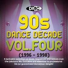 DMC Dance Decade Vol 4 1996 - 1998 Hits of the Nineties Mixes DJ CD Megamixes