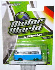 Greenlight Motor World Green Machine 1977 Volkswagen Type 2 Bus Van Chase VW