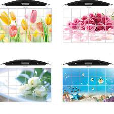 1Pcs Home Decor Tile Bathroom Kitchen Removable 3D Foil Sticker DIY Hot
