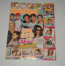 Quiz Fest Magazine August 2014 One Direction/Ariana/Styles/Bieber/Gomez/Swift