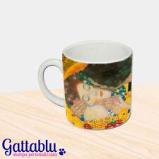 Tazzina da caffè espresso Il bacio di Klimt dettaglio del quadro FULL PRINTED