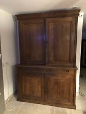 Antique Oak Country Housekeepers direct from School Kitchen Shop Cafe Cupboard