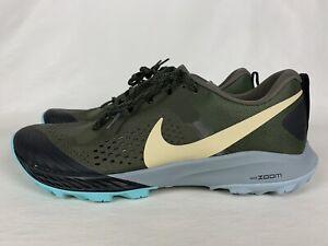Nike Zoom Terra Kiger 5 Trail Running Shoes Green Blk AQ2219-301 Mens Size 11.5