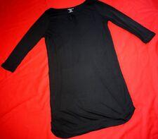 MAJESTIC FILATURES Paris 3/4 Manches Longues Robe -  Taille 3 M/L - Noir