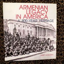 "NEW ""Armenian Legacy in America. A 400-Years Heritage""- H. Demoyan USA ARMENIANS"